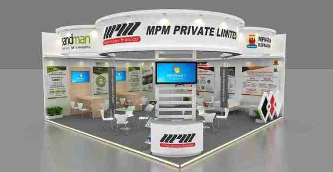 exhibition stall designer in delhi india