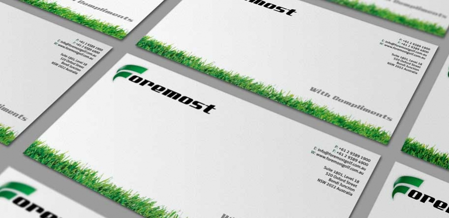 your logo on your company stationery