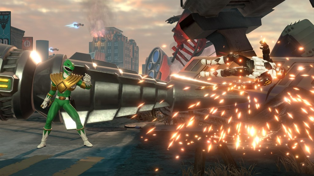 Power Rangers: Battle for the Grid, recenzja, review, Xbox One