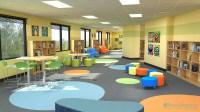 Pixel Perfect | 3D Rendering | Kids Daycare Playroom ...