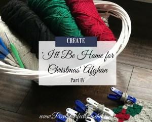 Christmas Crochet Afghan