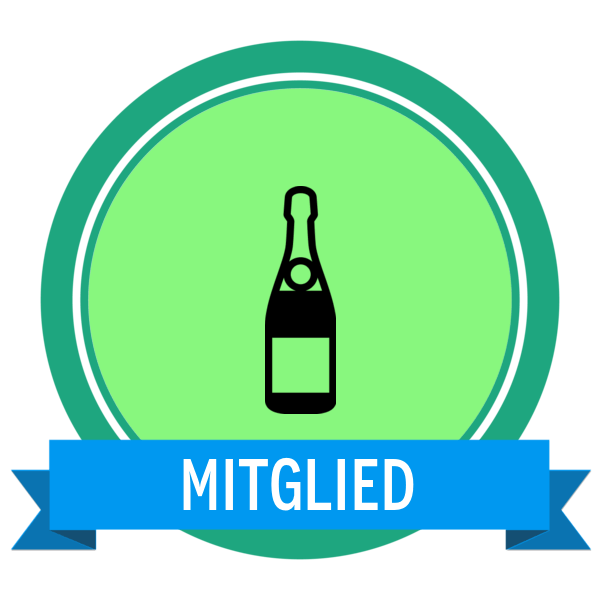 """Badge icon """"Champagne (1279)"""" provided by Element Group, from The Noun Project under Creative Commons - Attribution (CC BY 3.0)"""