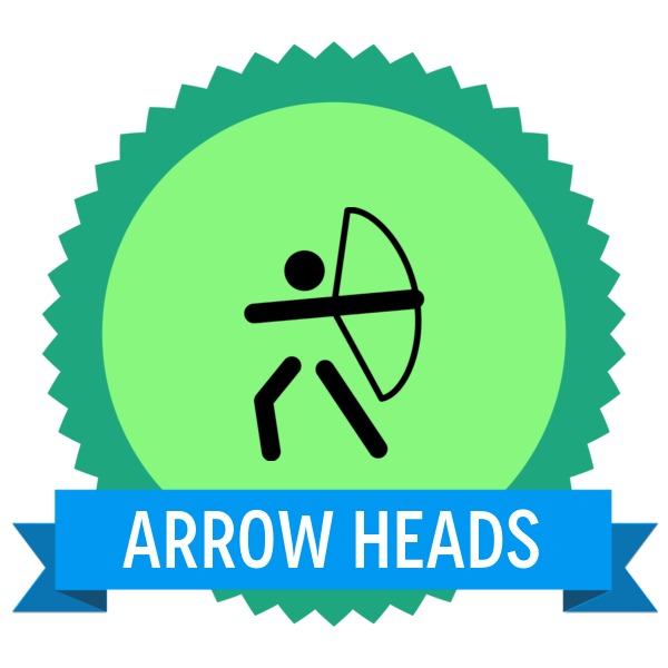 """Badge icon """"Archery (4702)"""" provided by Gabriele Fumero, from The Noun Project under Creative Commons - Attribution (CC BY 3.0)"""