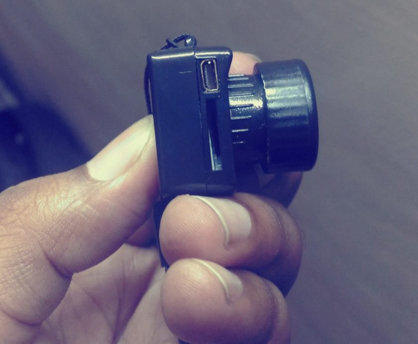 pixelrajeev, tiny camera