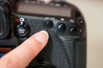 Canon Back Button focsuing