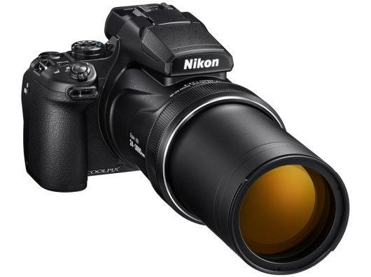 Nikon Coolpix P1000 : P1000 has 125x Optical Zoom can see Aliens on Moon