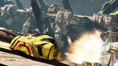 3863Transformers FOC - Bumblebee driving