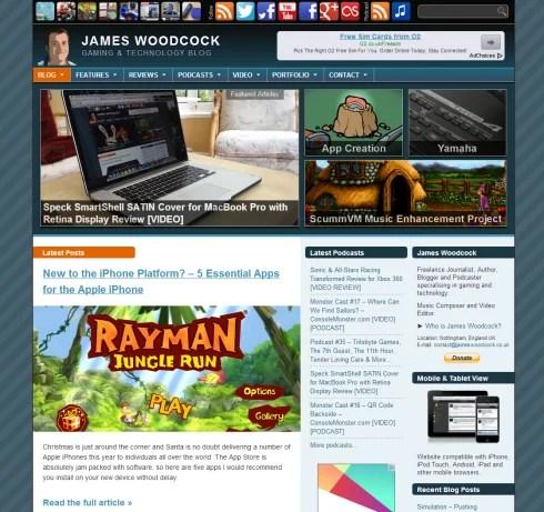 James Woodcock's Website