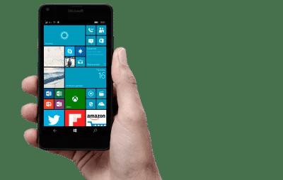 Windows 10 Mobile Live Tiles