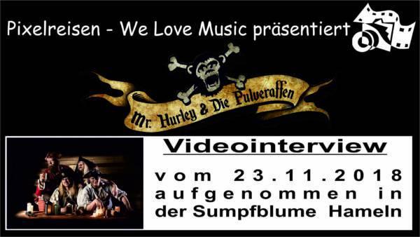 Mr. Hurley & die Pulveraffen – Videointerview