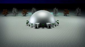 Simulação Pixel Dome 360º