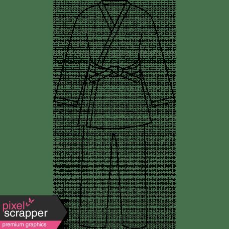 Karate Uniform Illustration graphic by Pixel Scrapper