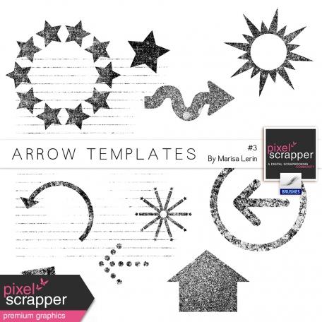 Arrow Templates Kit #3 by Marisa Lerin graphics kit
