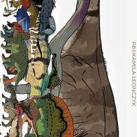 Dinosaurs size comparison charts