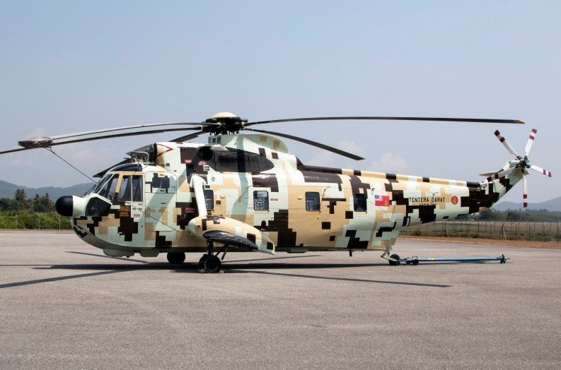 Sikorsky S-61A2 M23-01, Royal Malaysian Army