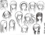 anime girl style
