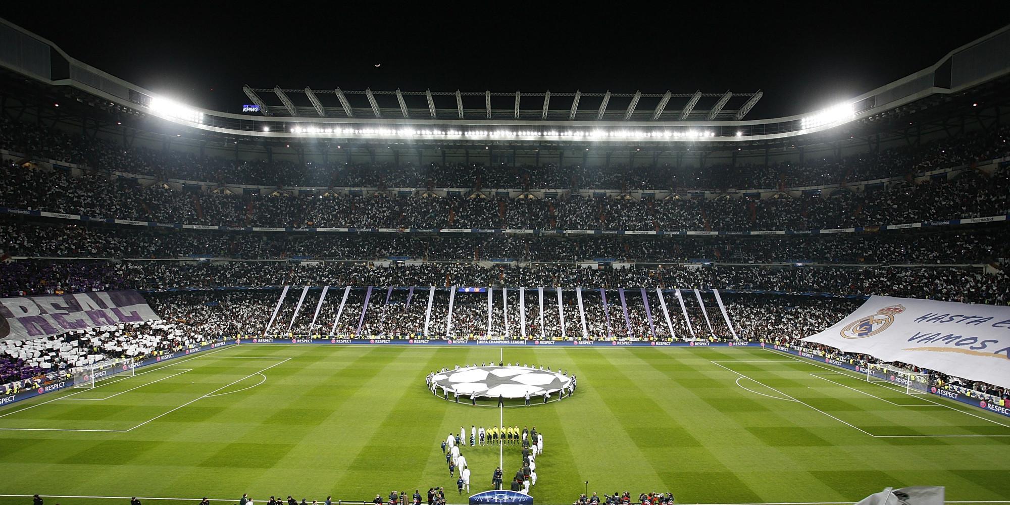 Real Madrid Desktop Wallpaper Hd Real Madrid Santiago Bernabeu Stadium Wallpapers