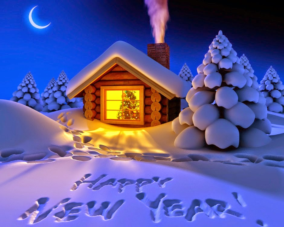 Image result for happy new year 2017 snow