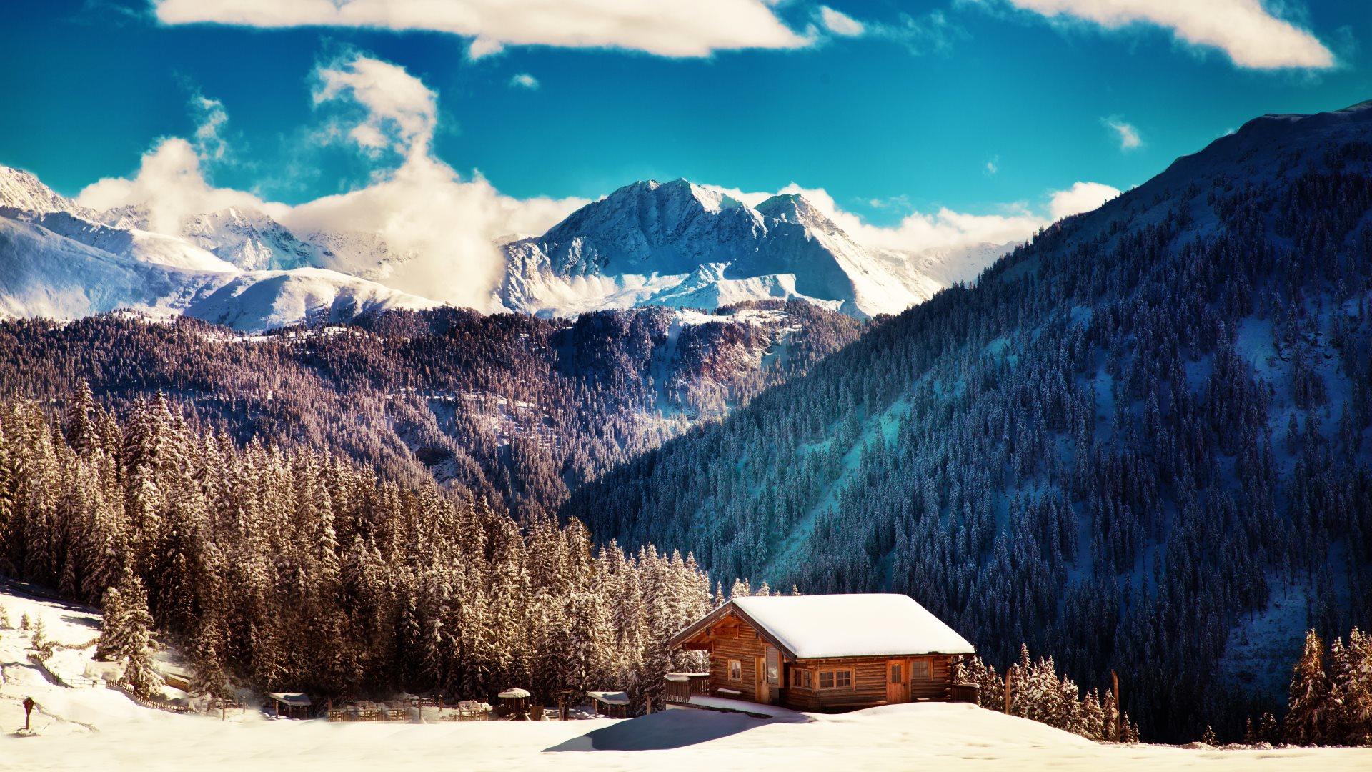 1920x1080 Winter Landscape Media File Pixelstalk Net