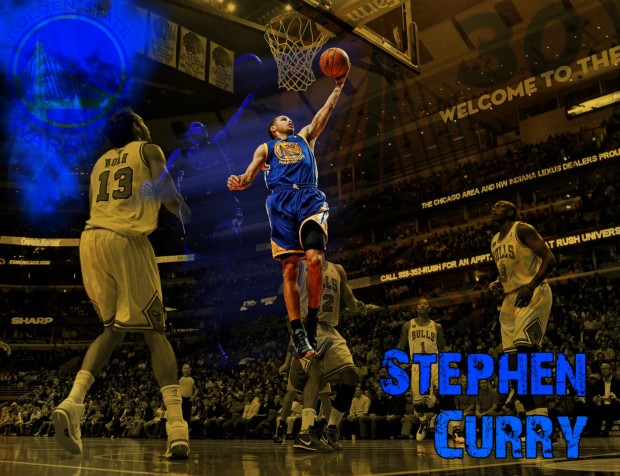 Stephen Curry wallpaper for desktop.