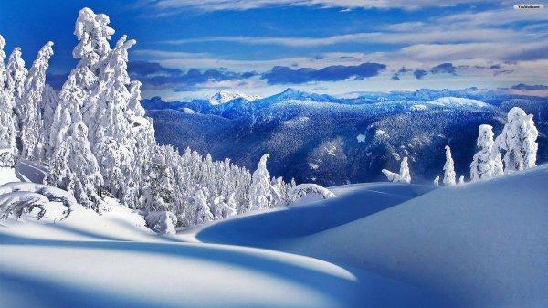 winter landscape wallpaper full