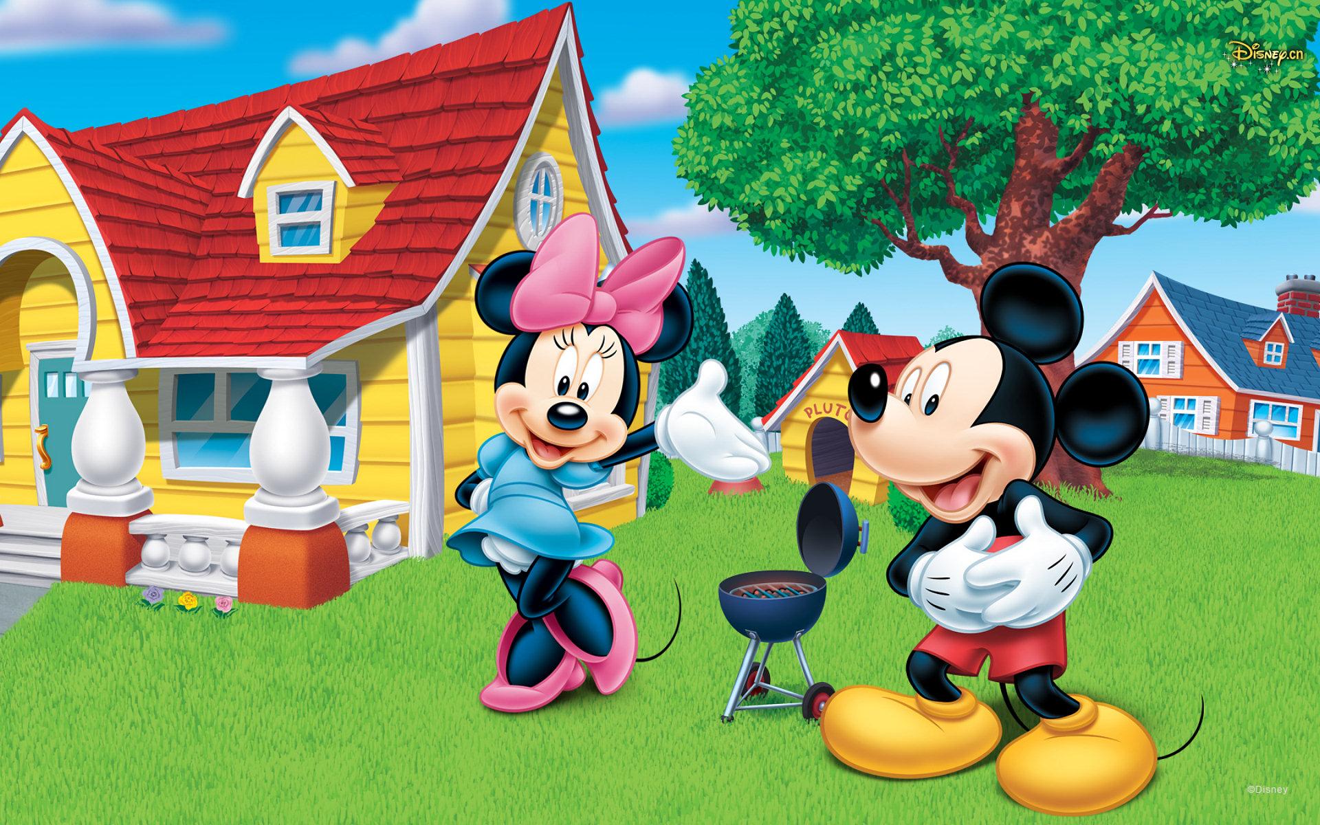 Cute Minnie And Mickey Mouse Wallpaper Mickey Mouse Background Destkop Pixelstalk Net