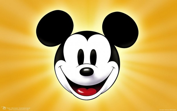 Cute Cartoon Mouse Face Black And White