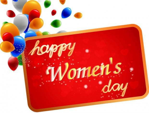 Happy Happy Womens Day Wallpaper HD.