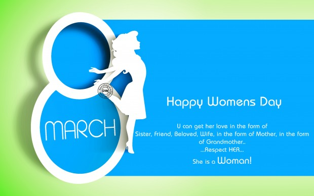 Happy womens day background.