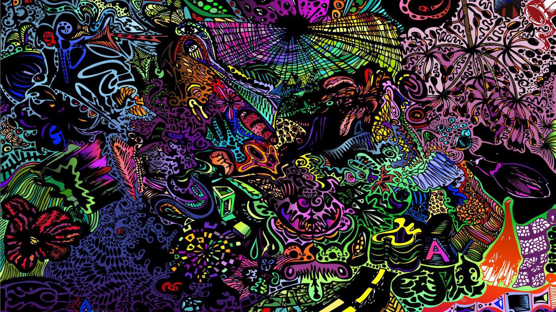 Trippy Background Deskop