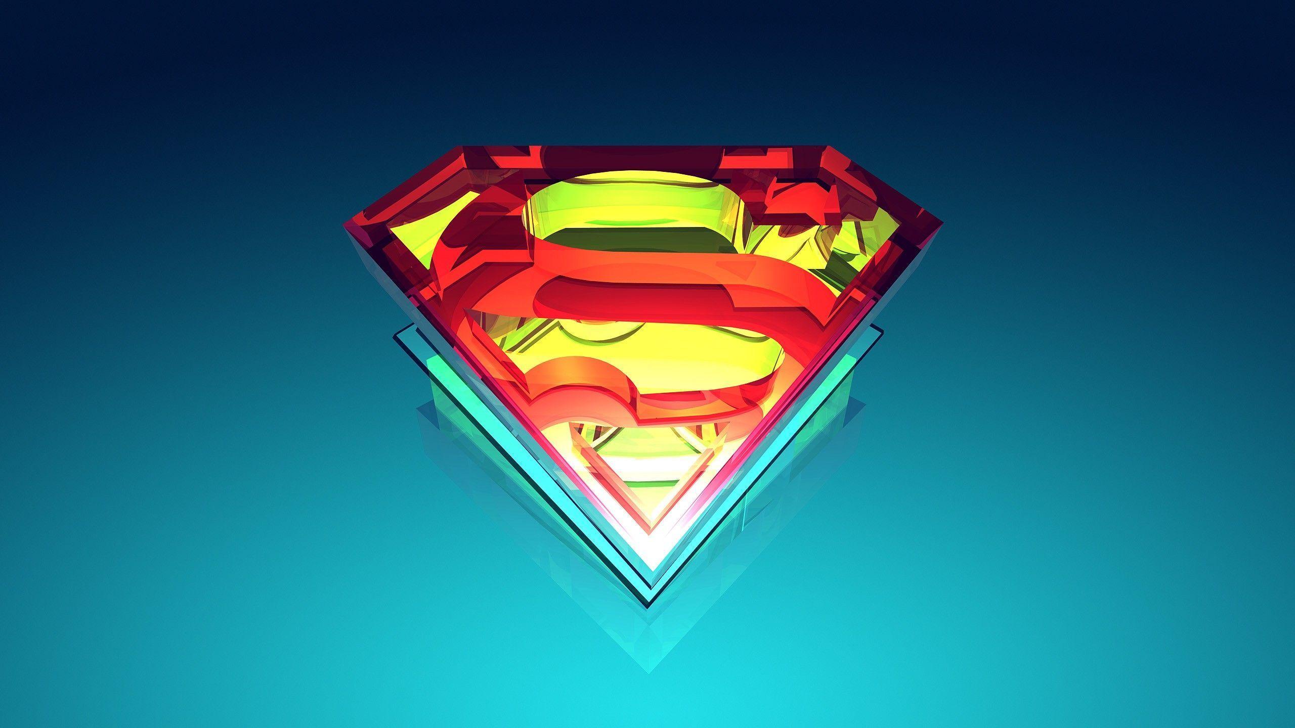 logo superman wallpaper hd