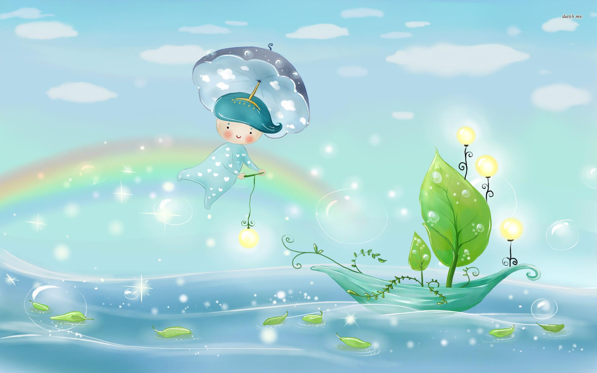 Cute Baby Girl Wallpaper Free Download Cute Rainbow Hd Wallpapers Pixelstalk Net