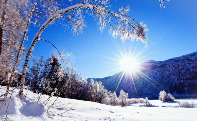 Free Winter Sun Wallpapers Pixelstalk Net