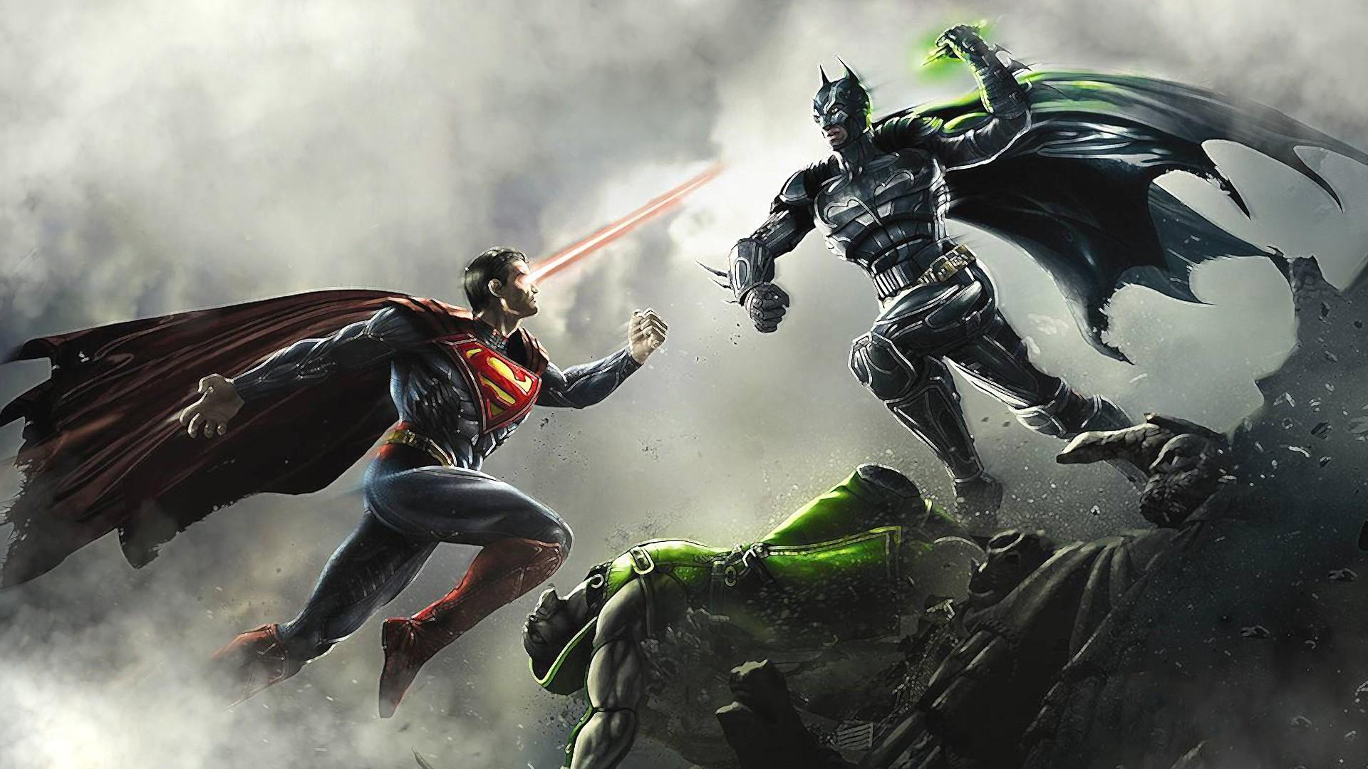 Batman Joker Full Hd Wallpaper Batman And Superman Wallpaper Background Hd Download Free