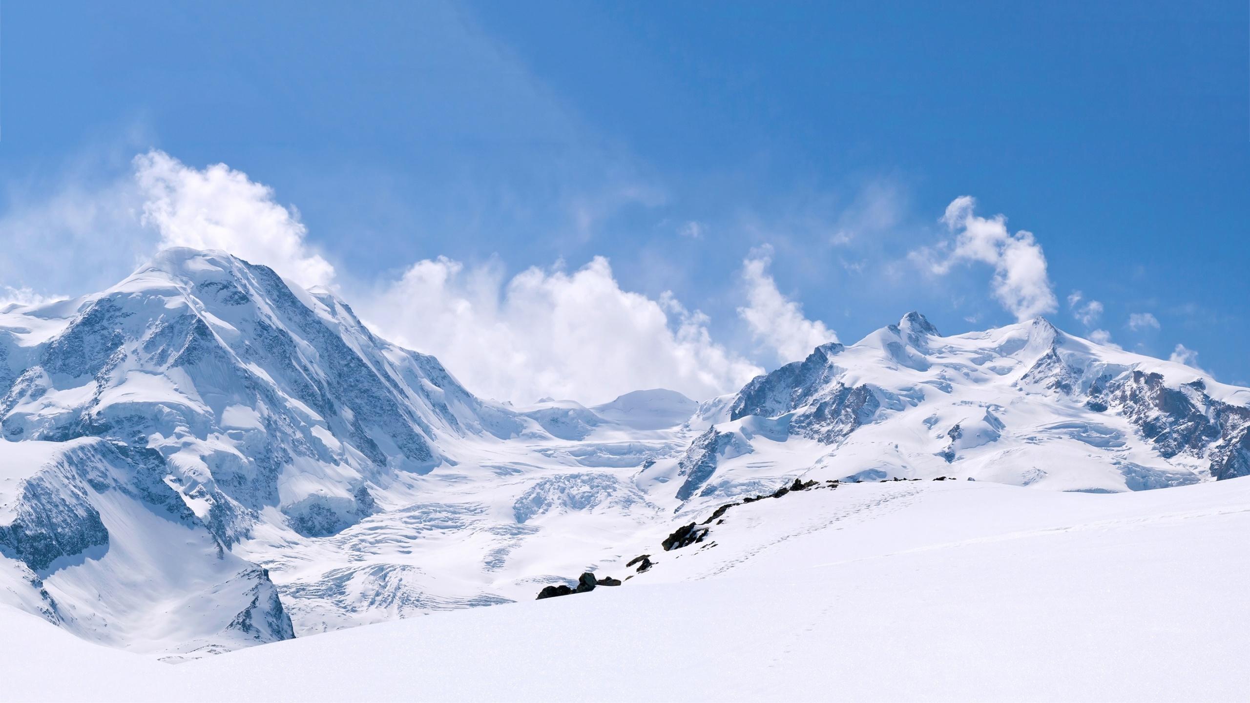 Winter Mountain Wallpaper