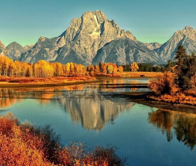 Autumn Mountain Wallpaper Hd Free Download