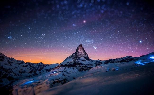 Night Mountain Wallpaper Hd Pixelstalk Net