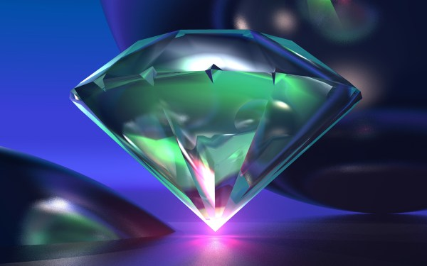 Diamond Background 3D Download