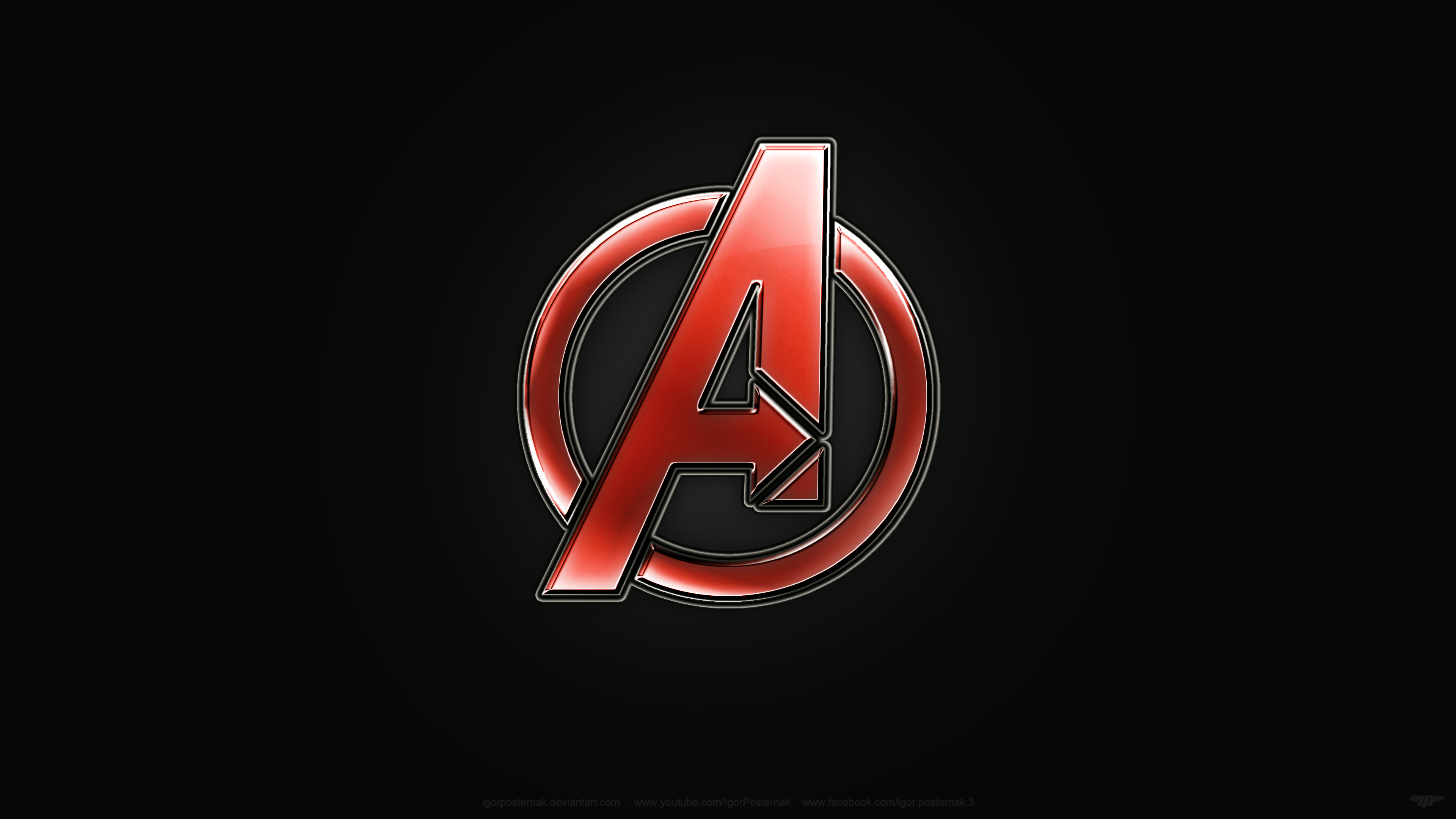logo avengers wallpapers pixelstalk