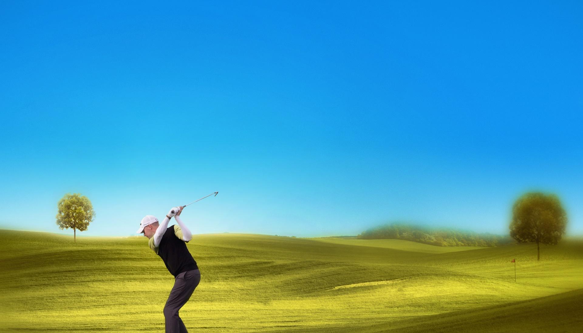 Playing In The Fall Wallpaper Golf Wallpapers Hd Pixelstalk Net