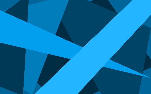 Blue Abstract Wallpaper Material Design