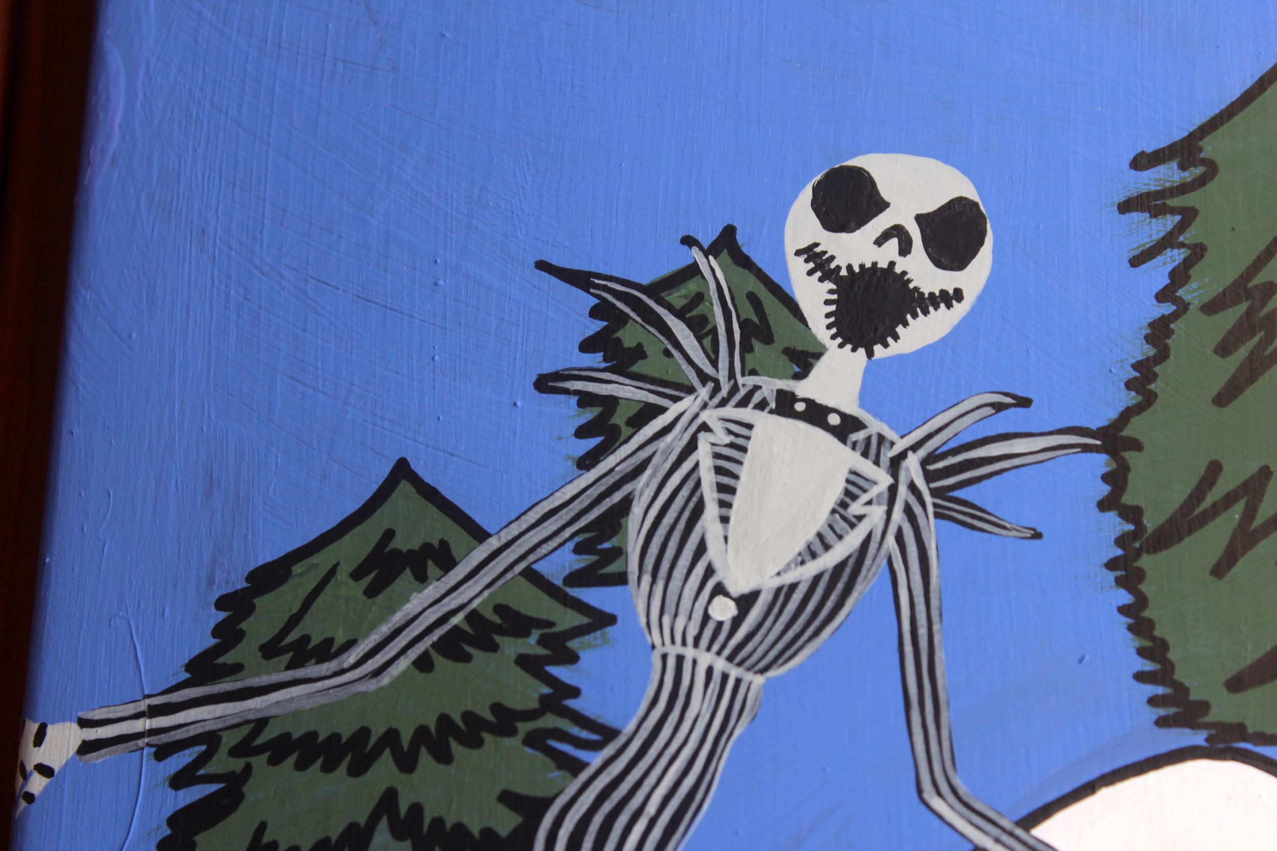 Spooky Iphone Wallpaper Jack Skellington Wallpapers Background Free Pixelstalk Net