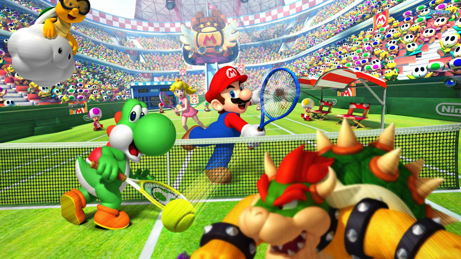 3d Mushroom Wallpaper Free Download Mario Wallpaper Hd Pixelstalk Net