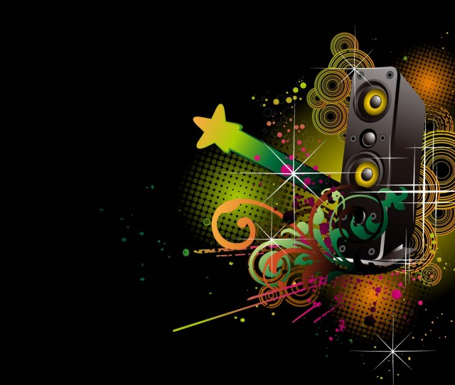 Abstract Music Wallpapers Hd