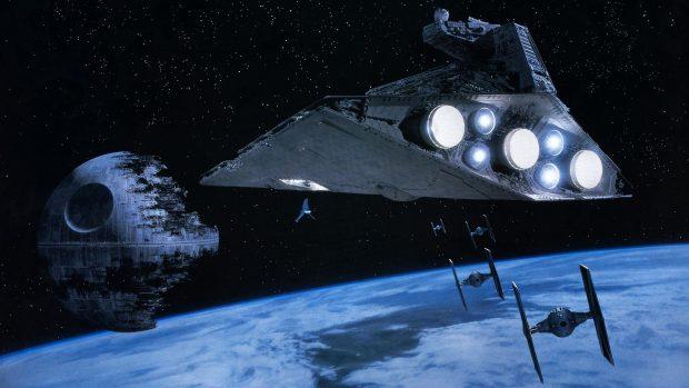 Death Star Wallpaper HD.