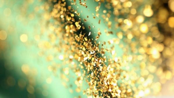 Gold Glitter Wallpaper Desktop