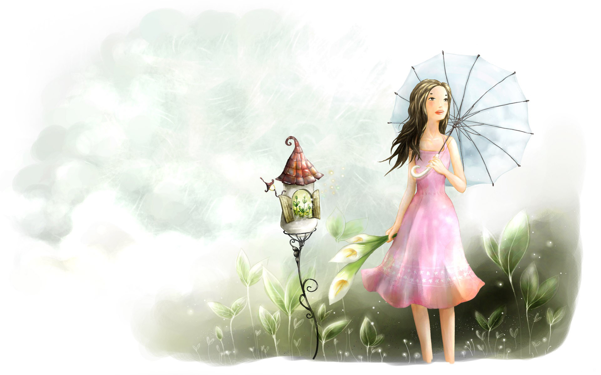 Cute Little Girl Wallpapers With Quotes Cute Cartoon Backgrounds Free Download Pixelstalk Net
