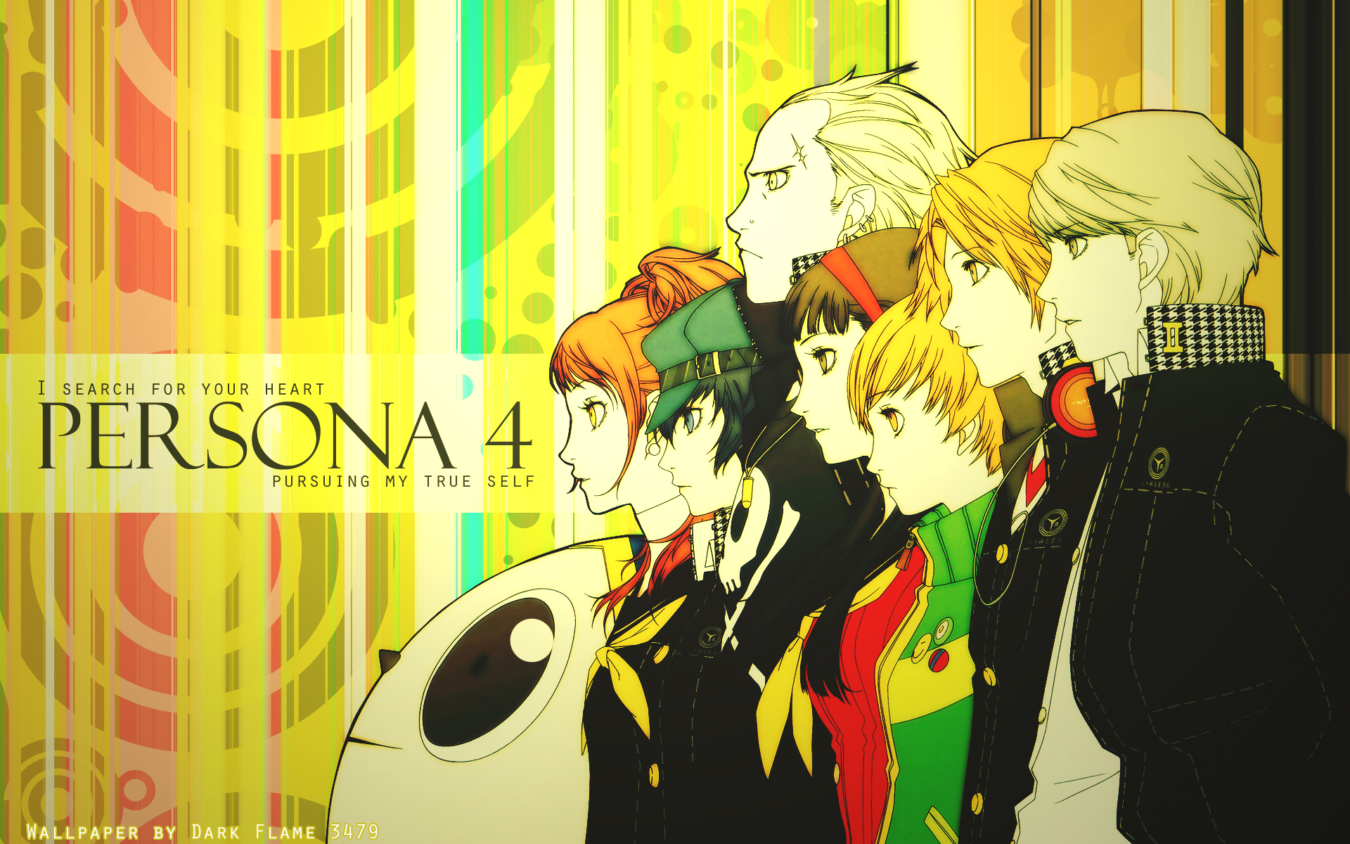Persona 4 The Animation Wallpaper Persona 4 Hd Backgrounds Pixelstalk Net