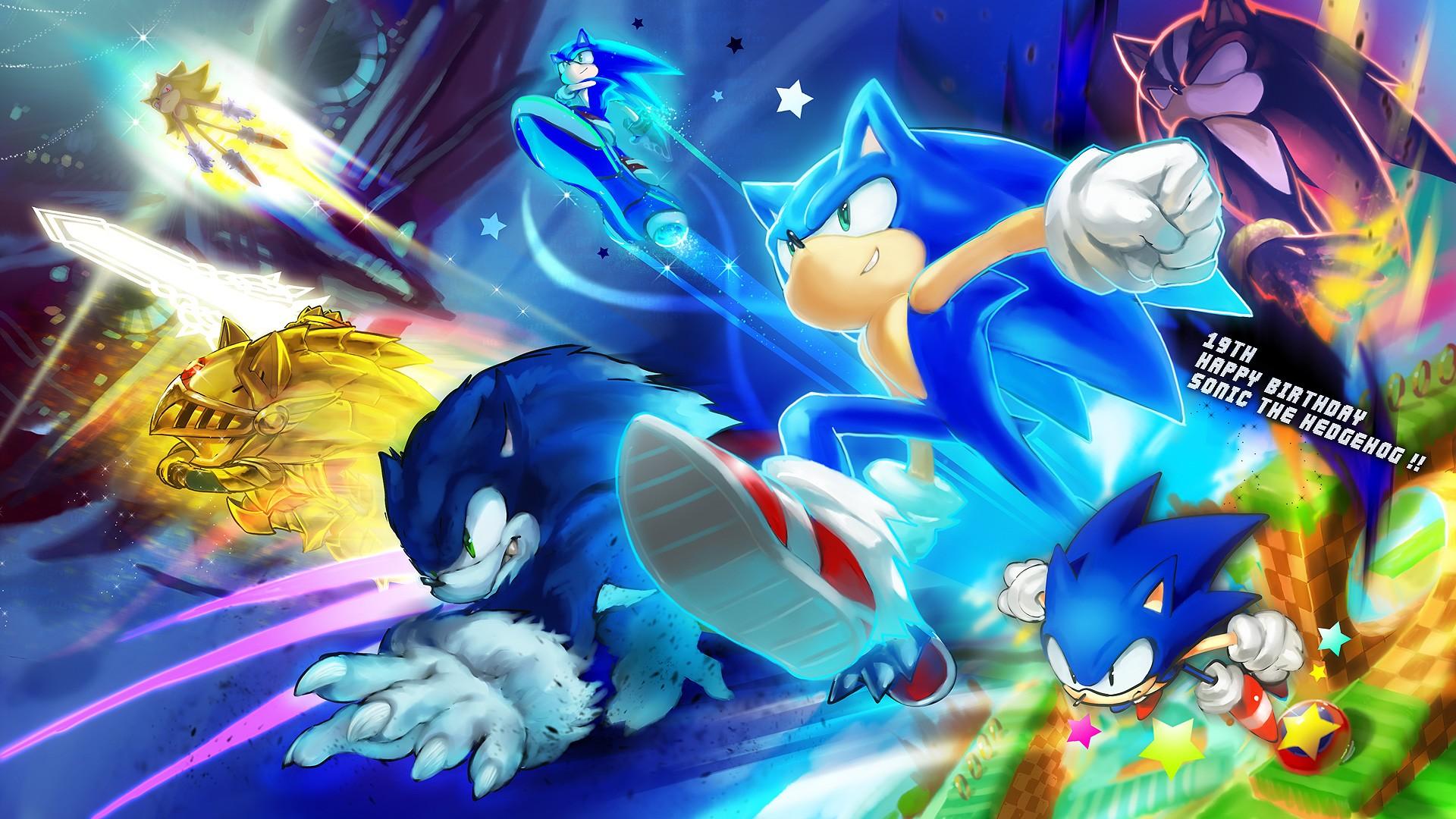 Free Fall Desktop Wallpaper Widescreen Free Sonic The Hedgehog Backgrounds Download Pixelstalk Net