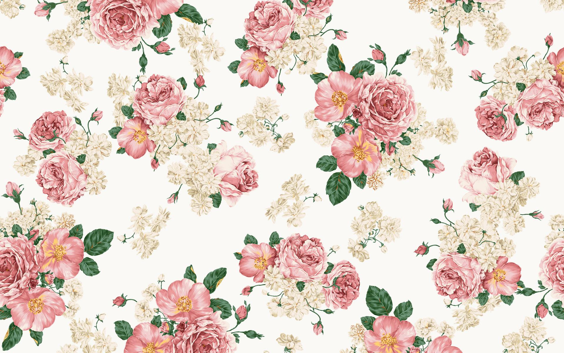 Fall Minimalist Wallpaper Vintage Flower Wallpapers Hd Pixelstalk Net